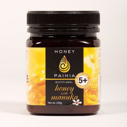 Picture of 5+ Multifloral Honey with Manuka - 250g (83+ MGO)