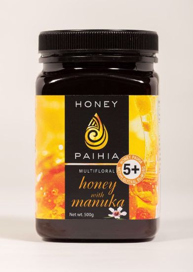 Picture of 5+ Multifloral Honey with Manuka - 500g (83+ MGO)